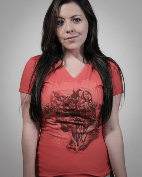 Camiseta Feminina Red Dead Redemption
