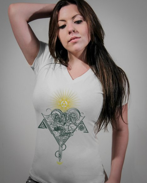 Camiseta Feminina Zelda