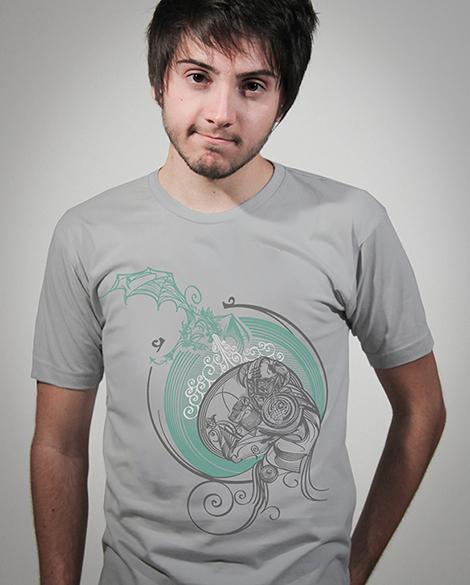 Camiseta Skyrim