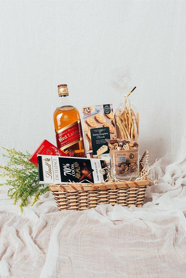 Cesta Whisky e Chocolates