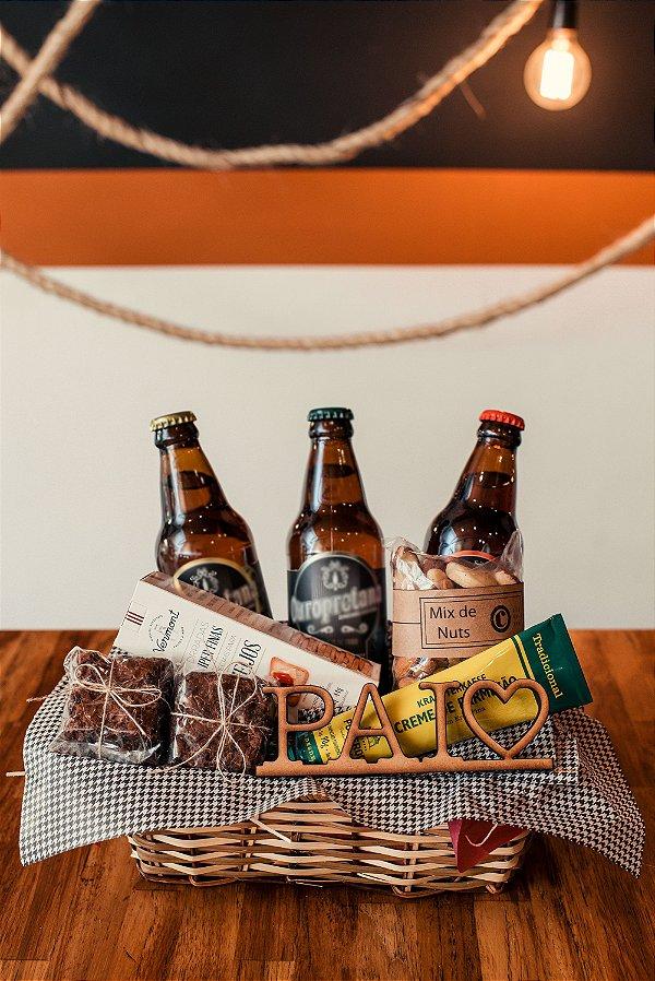 Cesta Trio de Cervejas Dia dos Pais