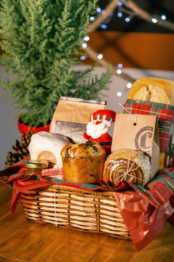 Cesta Café da Tarde de Natal