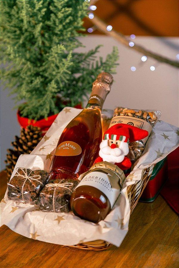 Cesta de Natal Foss Marai e Caramelo