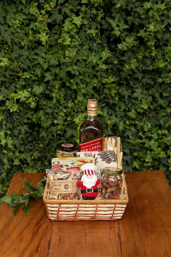 Cesta de Natal com Whisky