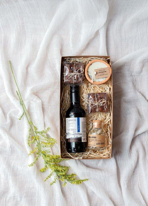 Kit Relax com Vinho