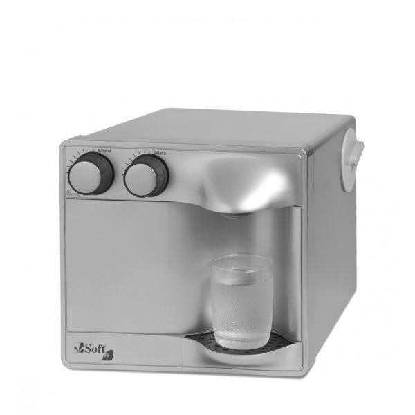 Purificador de Água Soft Fit by Everest - Prata (Com Refrigeração)