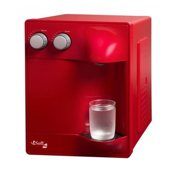 Purificador de Água Soft Plus by Everest - Cereja (Com Refrigeração)