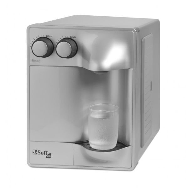 Purificador de Água Soft Slim by Everest - Prata (Com Refrigeração)
