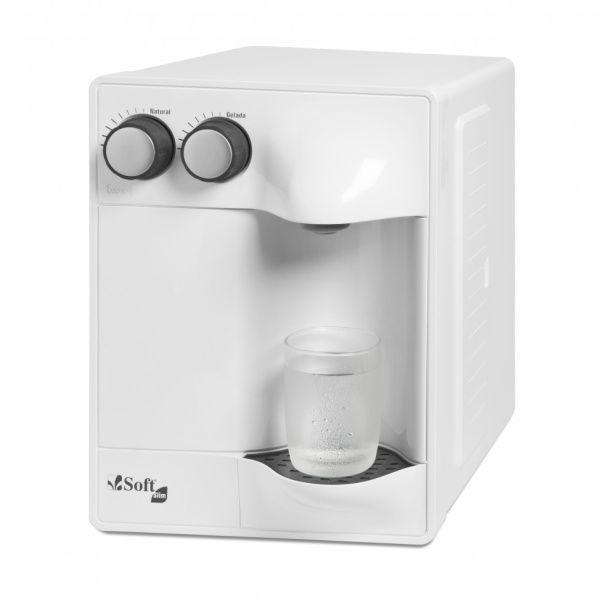 Purificador de Água Soft Slim by Everest - Branco (Com Refrigeração)