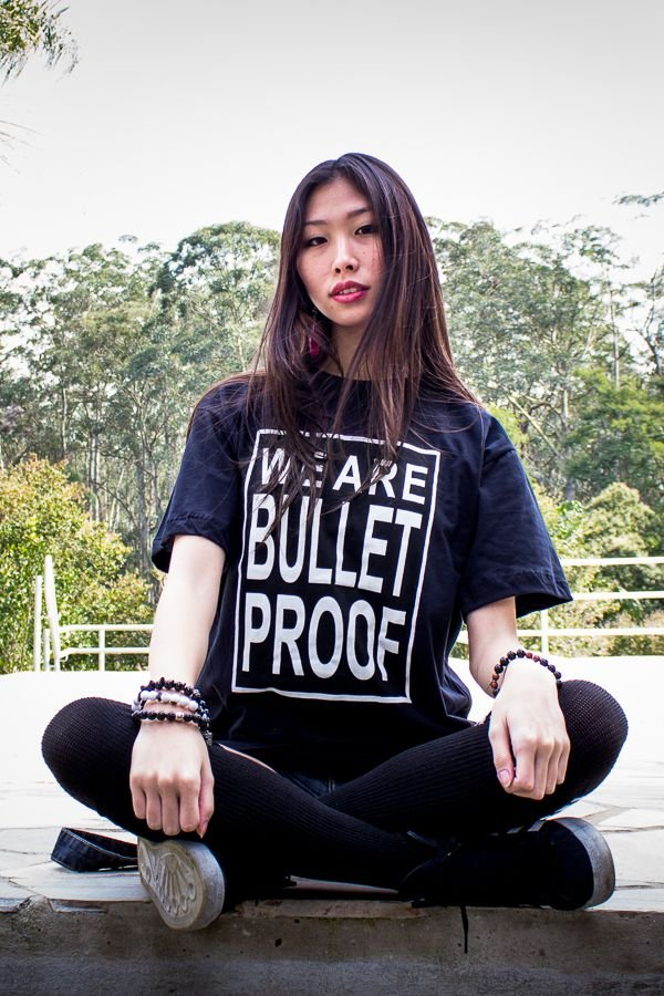 Camiseta - WE ARE BULLETPROOF