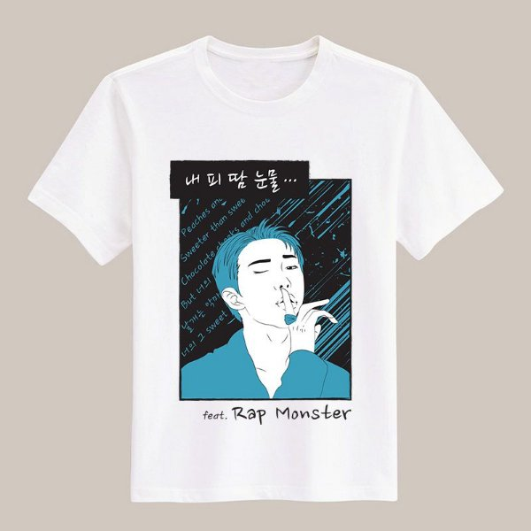 Camiseta Blood, Sweat & Tears - Rap Monster