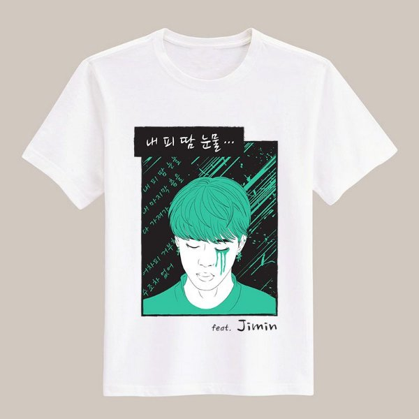 Camiseta Blood, Sweat & Tears - Jimin