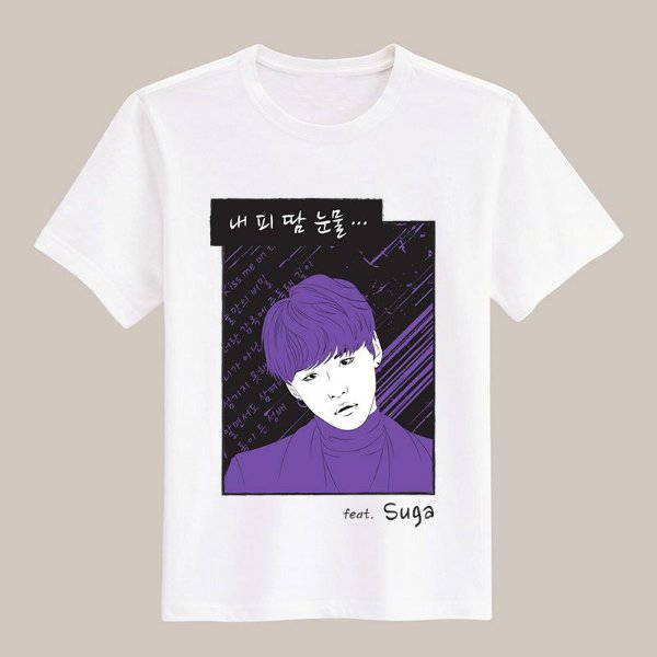 Camiseta Blood, Sweat & Tears - Suga