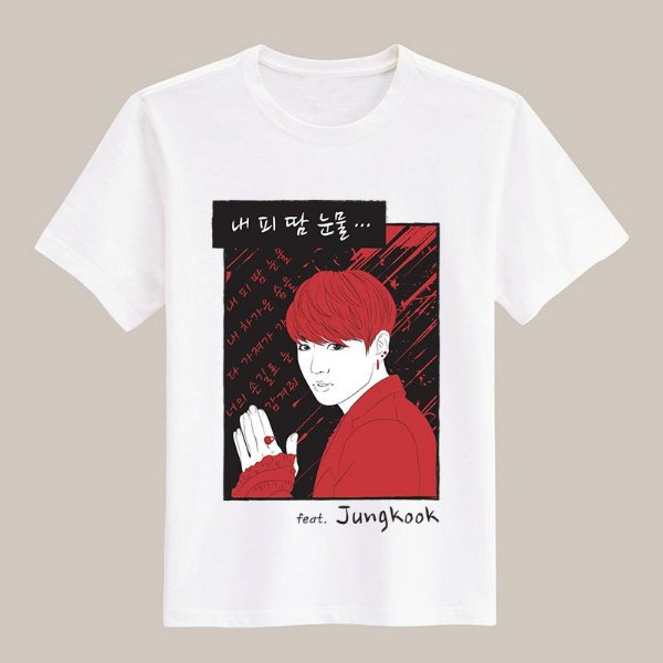 Camiseta Blood, Sweat & Tears - Jungkook