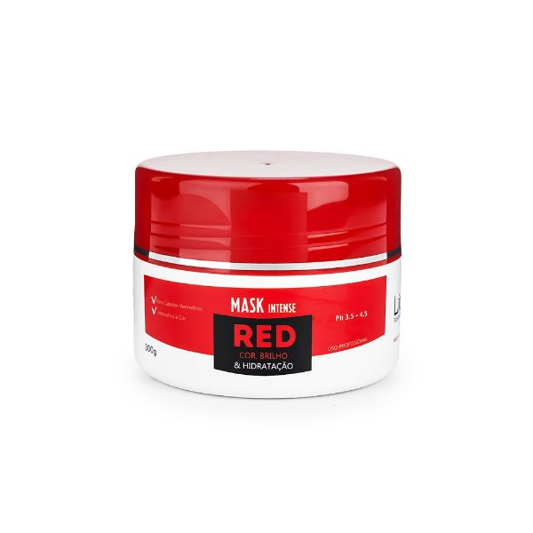 Máscara Vermelha - Mask Intense Red