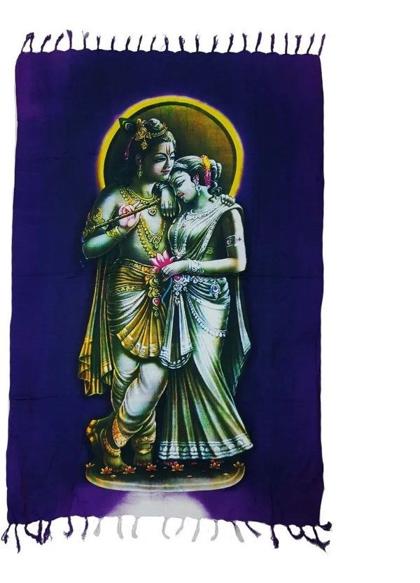Canga Indiana - Deuses Hindus - Krishna & Radha
