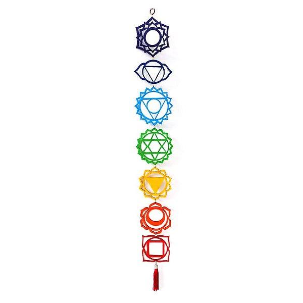 Fio de Luz - Mandala 7 Chakras - MDF