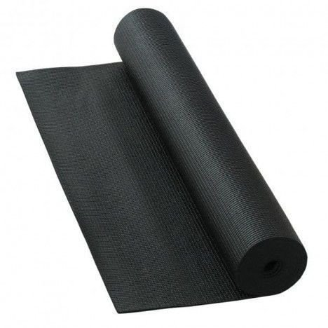 Tapete de Yoga  - Preto - 1,66 cm
