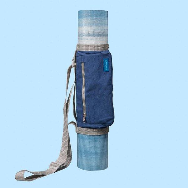 Bolsa para Tapete de Yoga  Mat - Vida Simples - Azul