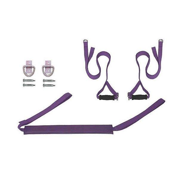 Kurunta - Cordas para Hatha Yoga - Cor Roxa