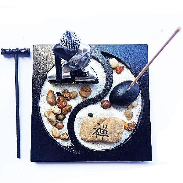 Enfeite Jardim Zen - Mini Buda
