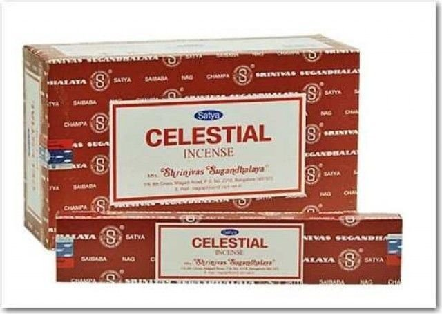 Incenso Indiano Celestial - Nag Champa