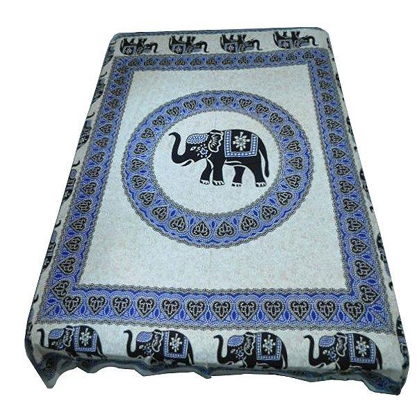 Colcha Indiana - Casal - Mandala Elefante