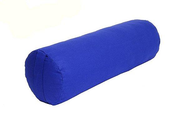 Bolster Almofadão Yoga - Formato Cilíndrico Grande- Várias Cores