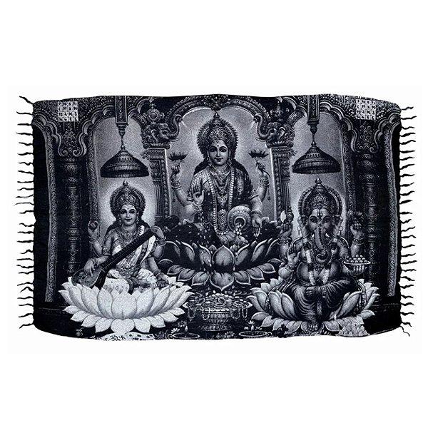 Canga Indiana - Saraswati Lakshimi e Ganesha