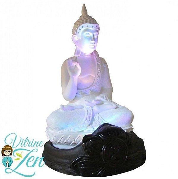 Luminária Buda com Luz - 25 cm - Bivolt