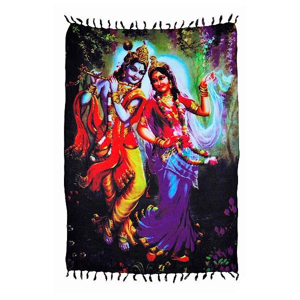 Canga Indiana - Deuses Hindus - Krishna e Parvati