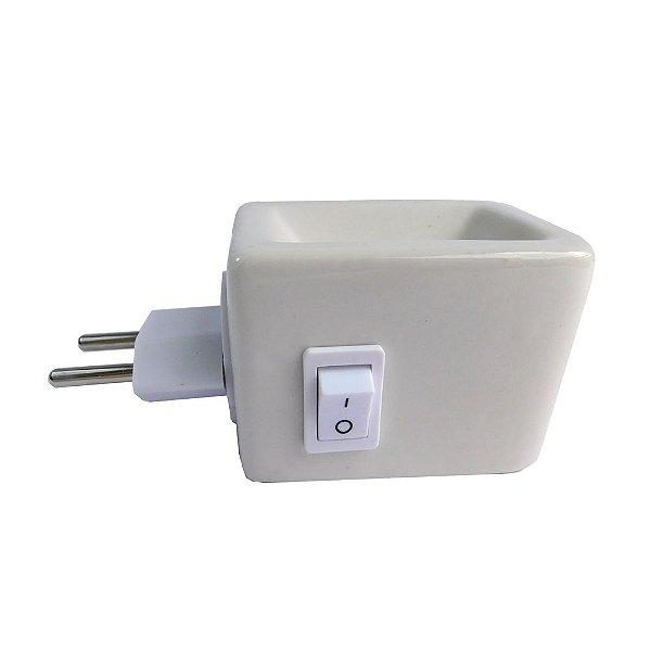 Aromatizador Elétrico de Cerâmica - Aquecedor de Óleo Essencial