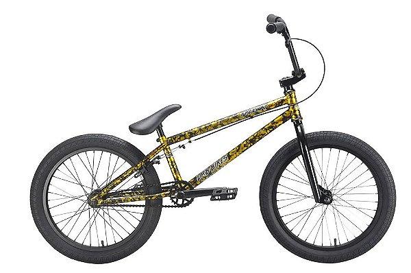 BICICLETA BMX DRB DOURADO REAL 20