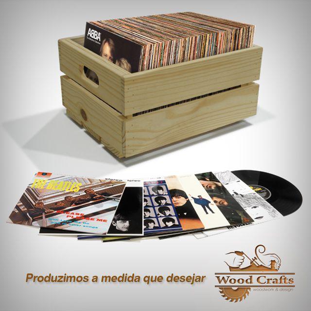 Caixote para LPs Importados
