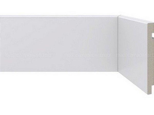 Rodapé Poliestireno Branco 15 cm LISO - valor por ml