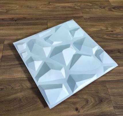 PAINEL 3D MODERNO PAREDE 50X50 CM ( PADRÃO RUBI )