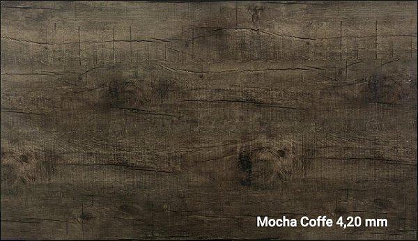 Piso Vinìlico Meyer SPC Click 4,20 mm cxs 2,41m2- COR MOCHA CAFÉ