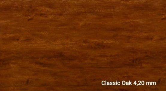 Piso Vinìlico SPC Click 4,20 mm cxs 2,41m2- CLASSIC OAK / por m2