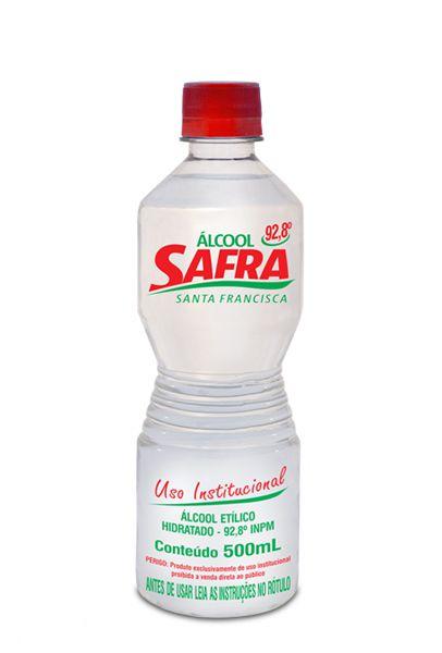 ALCOOL 92% 1 LITRO - SAFRA