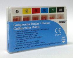 GUTA PERCHA  CALIBRADA DENTSPLY 45-80