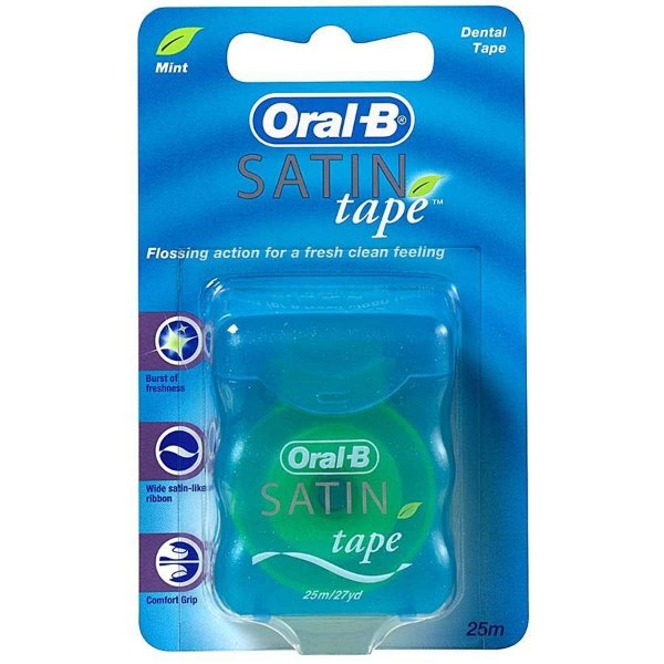FIO DENTAL SATIN  TAPE - ORAL - B