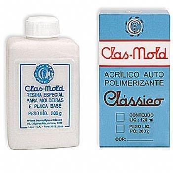 CLAS-MOLD PÓ 200 GRS INCOLOR - CLÁSSICO