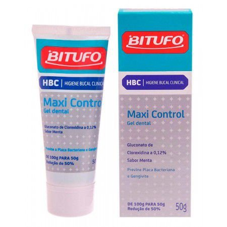 GEL DENTAL MAXI CONTROL -  BITUFO