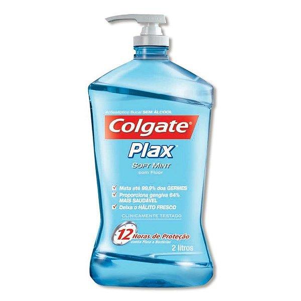 PLAX SOFT MINT 2 LITROS - COLGATE