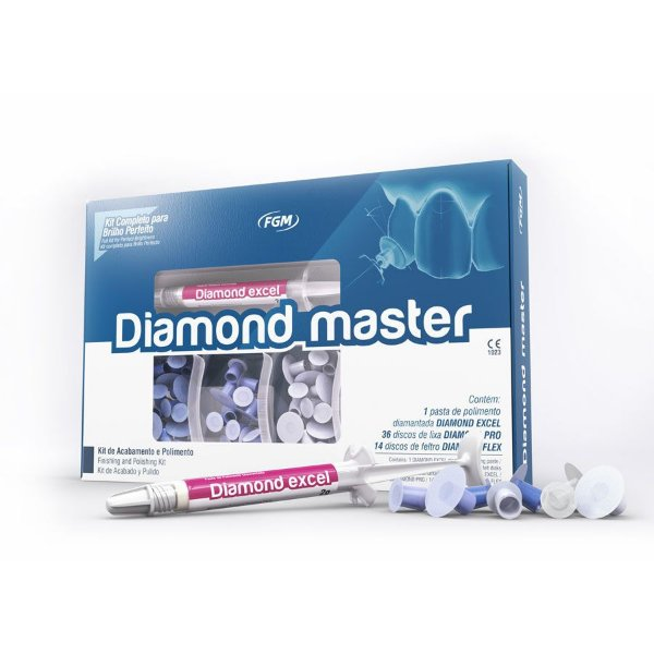 KIT POLIMENTO DIAMOND MASTER - FGM