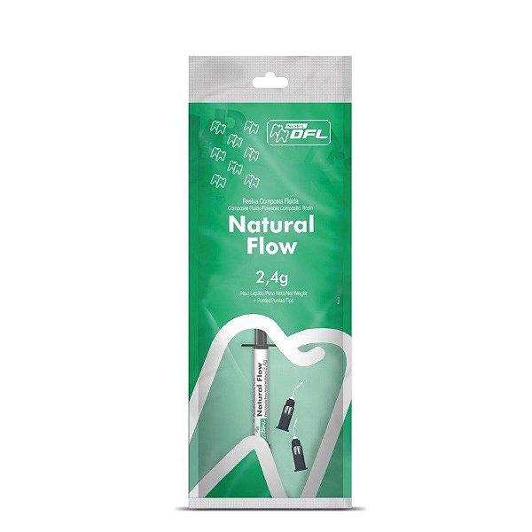 RESINA NATURAL FLOW COM 1 SERINGA - DFL