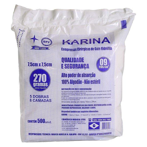 GAZE KARINA 9 FIOS C/500 - AMERICA