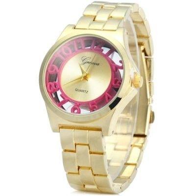 Relógio feminino Geneva Transparente