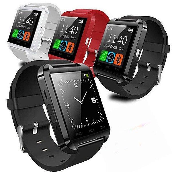 Smartwatch Relógio Eletrônico U8