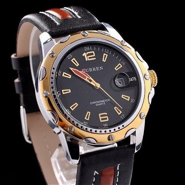 34993c3ce79 Relógio Curren Luxo - Dali Relógios